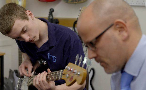 Treating Tourette Syndrome with music